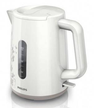 Чайник электрический Philips HD9304 белый / рисунок
