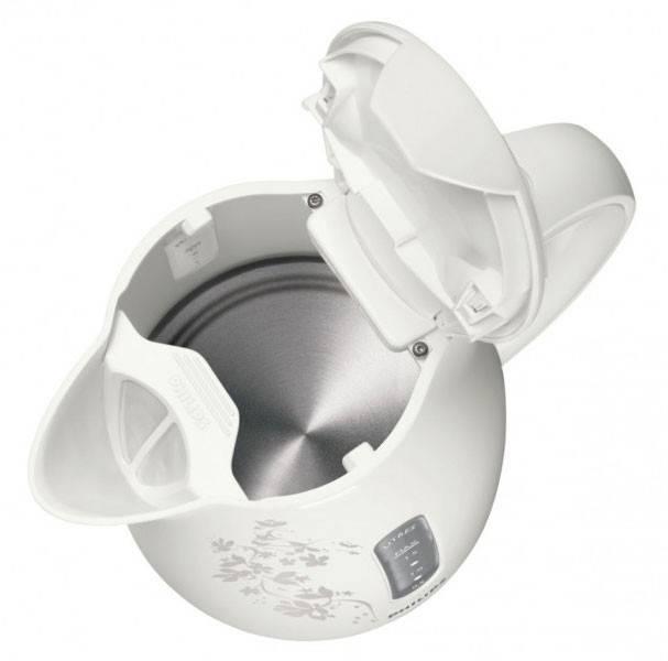 Чайник электрический Philips HD9304 белый/рисунок (HD9304/13) - фото 3