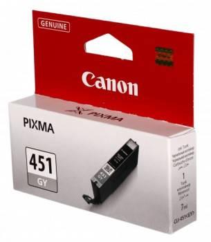 Картридж струйный Canon CLI-451GY серый (6527B001)