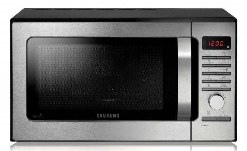 СВЧ-печь Samsung MC285TATCSQ серебристый - фото 1