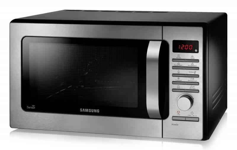 СВЧ-печь Samsung MC285TATCSQ серебристый - фото 2