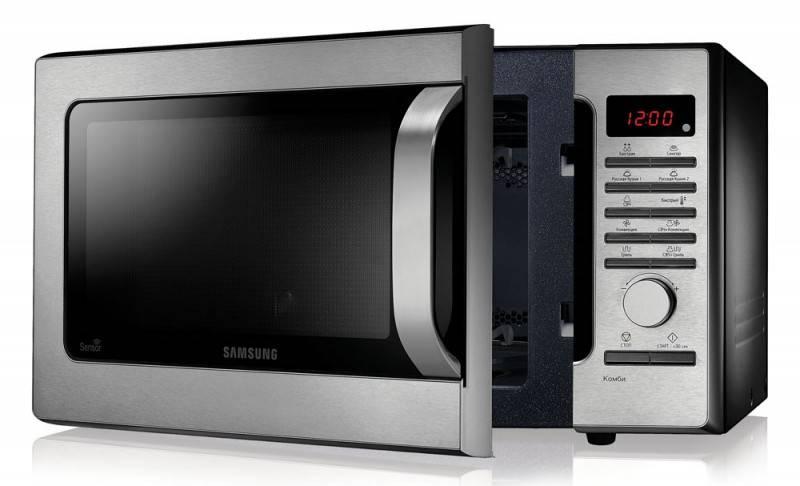 СВЧ-печь Samsung MC285TATCSQ серебристый - фото 3