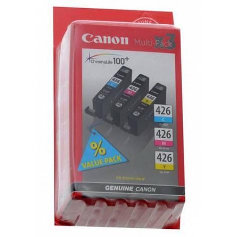 Картридж струйный Canon CLI-426CMY 4557B006 голубой/пурпурный/желтый - фото 1