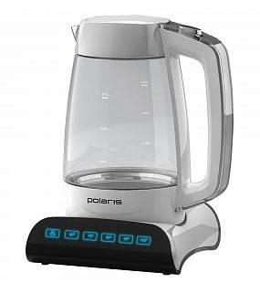 Чайник электрический Polaris PWK1507CGD белый - фото 1
