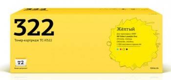 Тонер Картридж T2 CE322A TC-H322 желтый