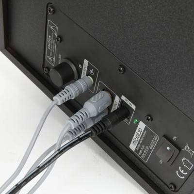 Акустическая система 2.1 Microlab FC-20 черный - фото 2