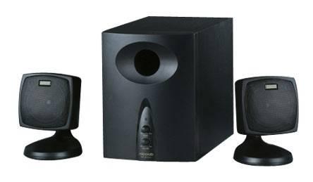 Акустическая система 2.1 Microlab M-300 черный - фото 1