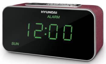Радиобудильник Hyundai H-1503U красный