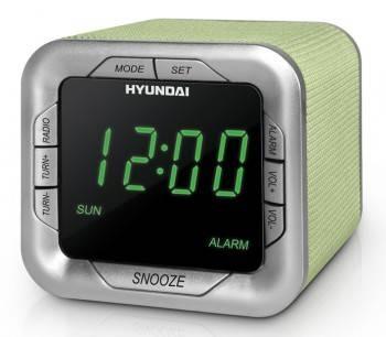 Радиобудильник Hyundai H-1505U аквамарин