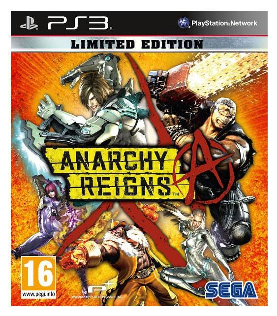 Игра для PS3 Sony Anarchy Reigns. Limited Edition - фото 1