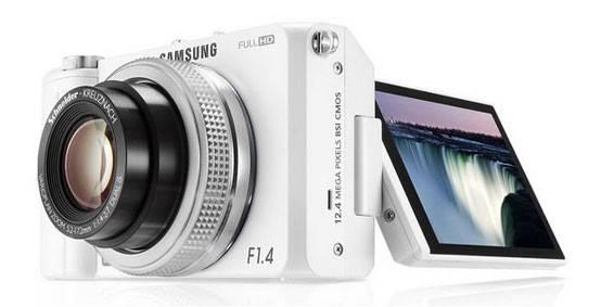 Фотоаппарат Samsung EX-2F белый - фото 3
