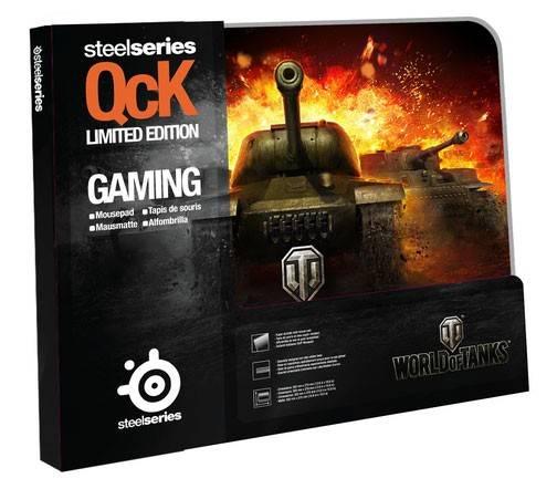 Коврик для мыши Steelseries SS QCK World of Tanks черный - фото 2