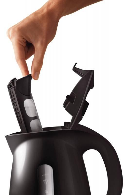 Чайник электрический Philips HD4699/20 черный - фото 5