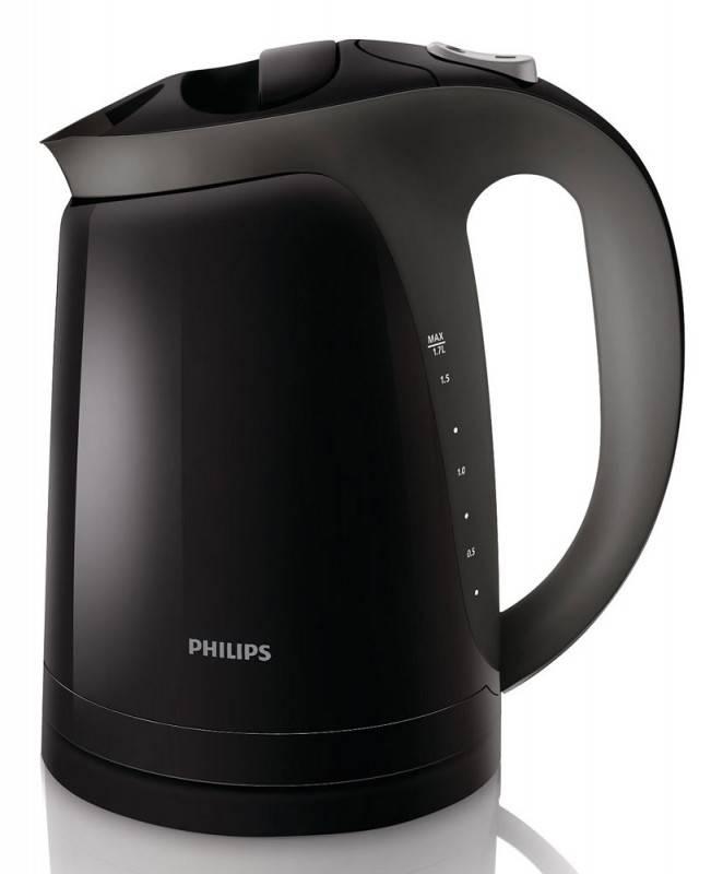 Чайник электрический Philips HD4699/20 черный - фото 1