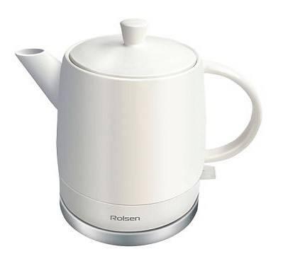 Чайник электрический Rolsen RK-1590CW белый - фото 1