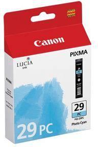 Картридж струйный Canon PGI-29PC 4876B001 фото голубой - фото 1