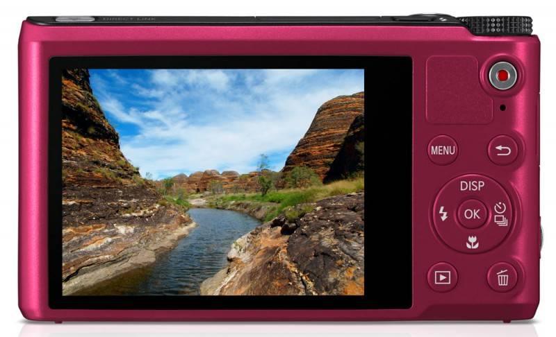 Фотоаппарат Samsung WB200F красный - фото 5