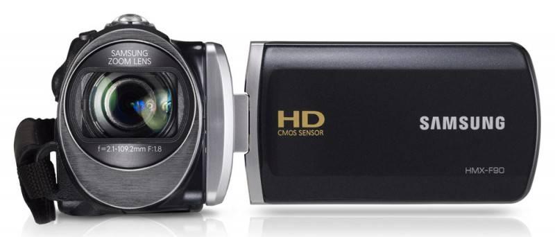 Видеокамера Samsung HMX-F90 черный - фото 1