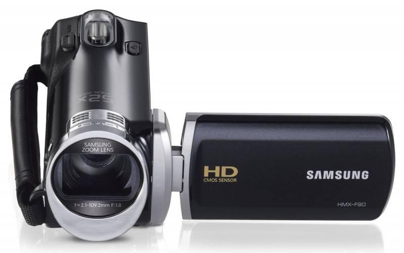 Видеокамера Samsung HMX-F90 черный - фото 2