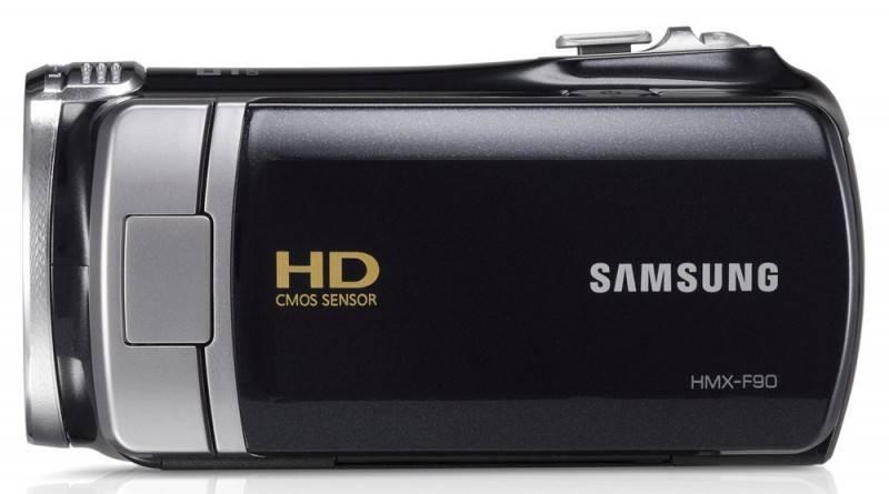 Видеокамера Samsung HMX-F90 черный - фото 3