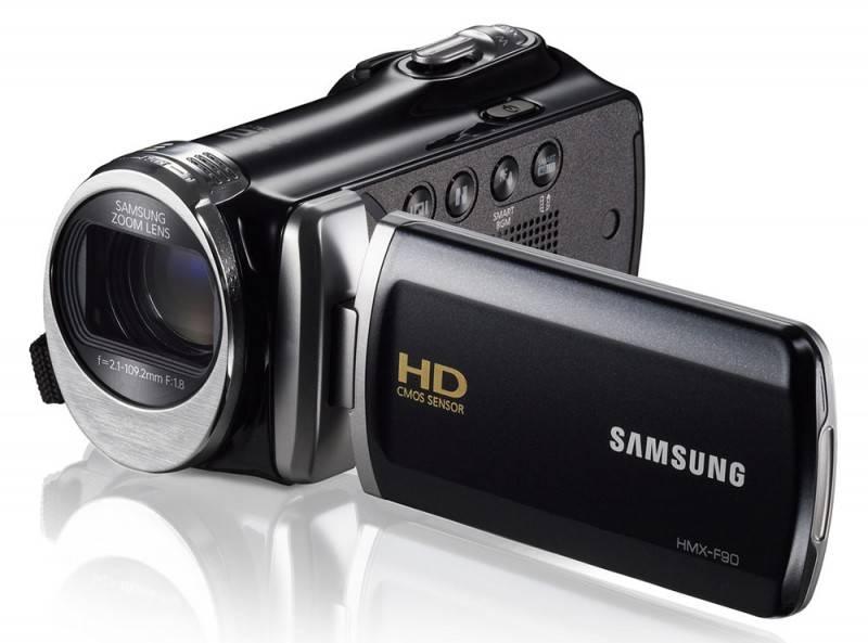 Видеокамера Samsung HMX-F90 черный - фото 5