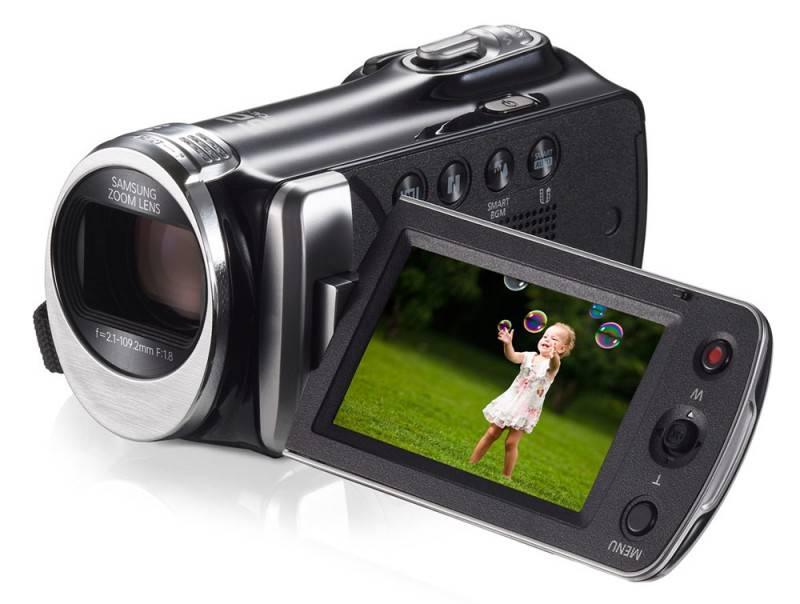 Видеокамера Samsung HMX-F90 черный - фото 6