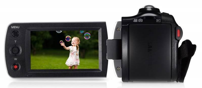 Видеокамера Samsung HMX-F90 черный - фото 8