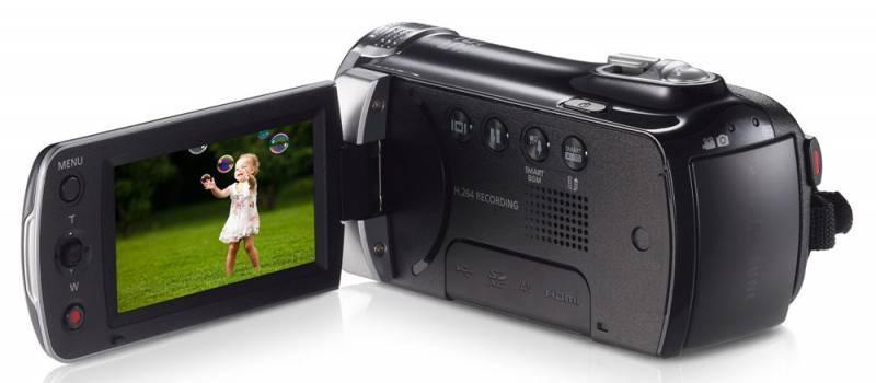 Видеокамера Samsung HMX-F90 черный - фото 9