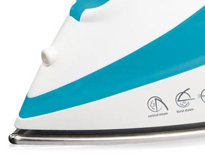 Утюг Polaris PIR2061b голубой/белый - фото 1