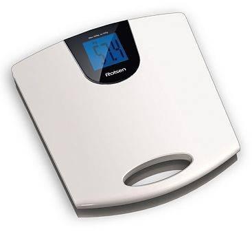 Весы напольные электронные Rolsen RSL1514 белый - фото 1