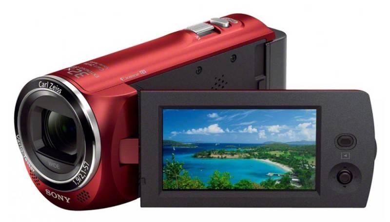 Видеокамера Sony HDR-CX220E красный - фото 3