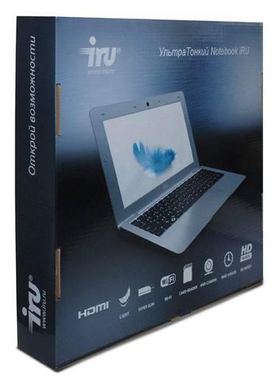"Нетбук iRU Ultralight 401  11.6"" 1366x768 Intel Atom N2800 1.86ГГц 4096МБ DDR3 500Гб Intel GMA 3650 Windows 7 Home Basic 32-bit - фото 11"