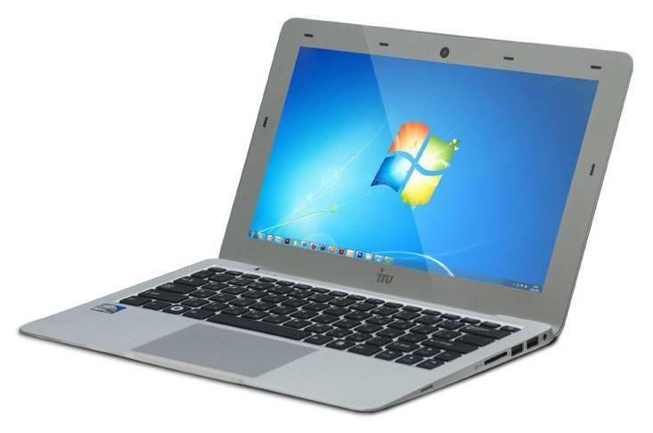 "Нетбук iRU Ultralight 401  11.6"" 1366x768 Intel Atom N2800 1.86ГГц 4096МБ DDR3 500Гб Intel GMA 3650 Windows 7 Home Basic 32-bit - фото 8"