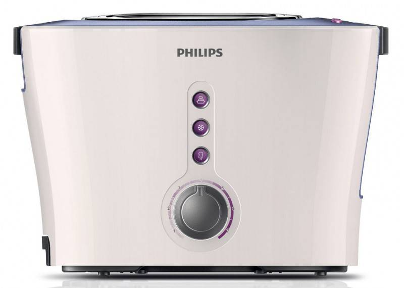 Тостер Philips HD2630/50 белый/серый - фото 3