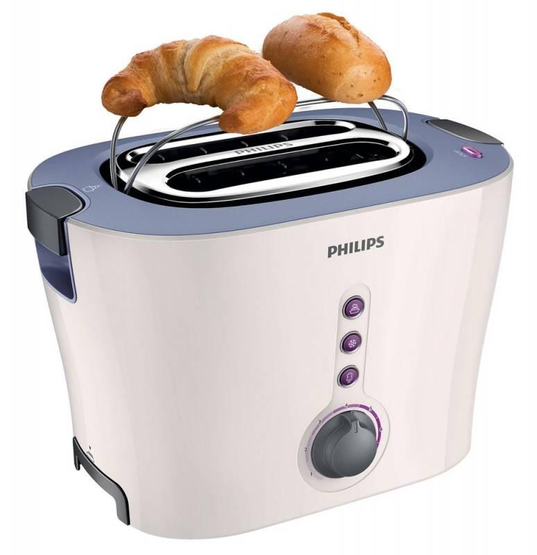 Тостер Philips HD2630/50 белый/серый - фото 5