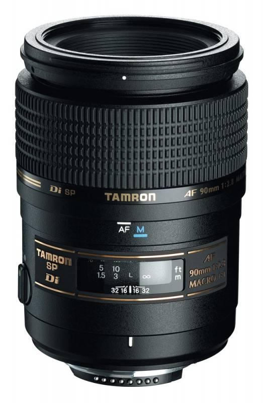 Объектив Tamron SP AF 90mm F/2,8 Di MACRO 1:1 90mm f/2.8 - фото 1