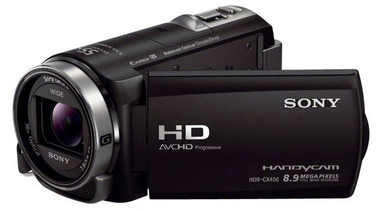 Видеокамера Sony HDR-CX400E черный - фото 1