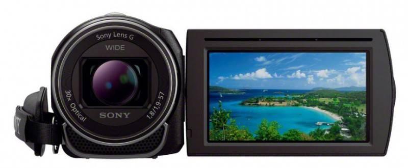 Видеокамера Sony HDR-CX400E черный - фото 4