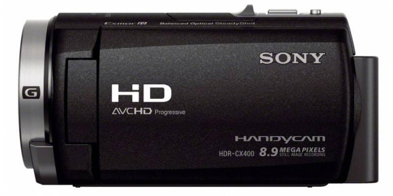 Видеокамера Sony HDR-CX400E черный - фото 5