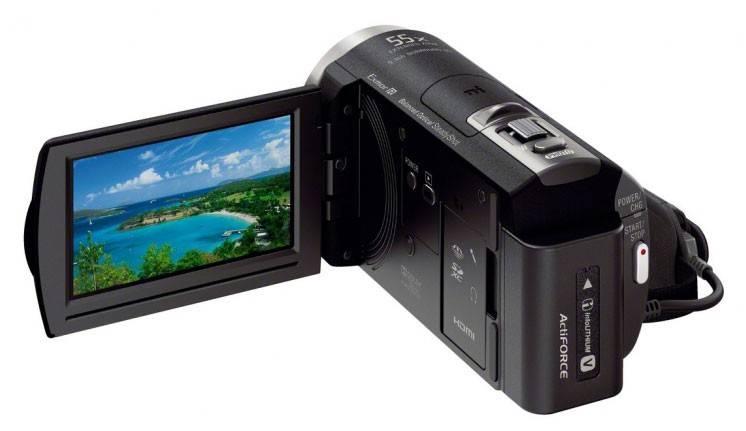 Видеокамера Sony HDR-CX400E черный - фото 6