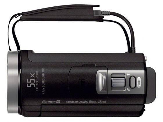 Видеокамера Sony HDR-CX400E черный - фото 10