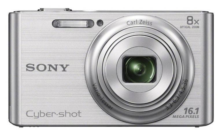 Фотоаппарат Sony Cyber-shot DSC-W730 серебристый - фото 1