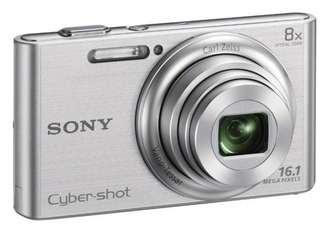 Фотоаппарат Sony Cyber-shot DSC-W730 серебристый - фото 2