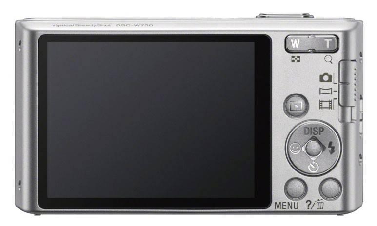 Фотоаппарат Sony Cyber-shot DSC-W730 серебристый - фото 3