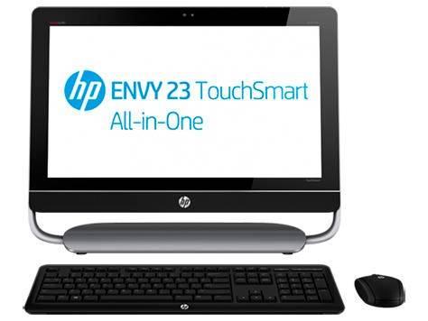 """Моноблок 23"""" HP Envy 23-d102er черный/серый - фото 1"""