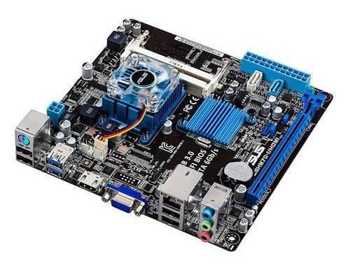 Материнская плата Asus C8HM70-I/HDMI mini-ITX - фото 1
