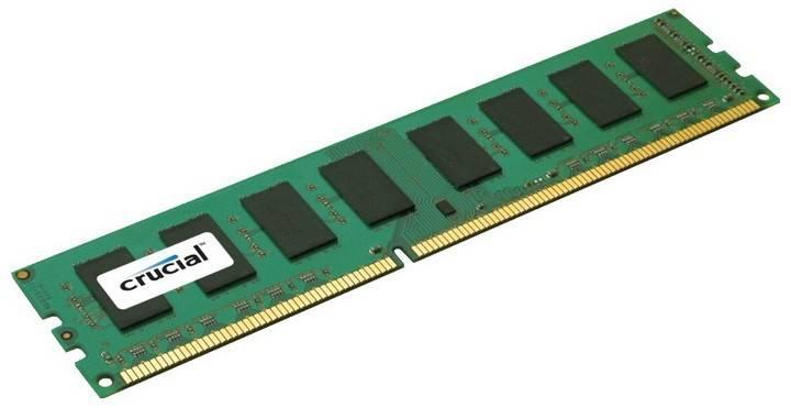 Модуль памяти DIMM DDR3L 1x16Gb Crucial CT16G3ERSLD4160B - фото 1