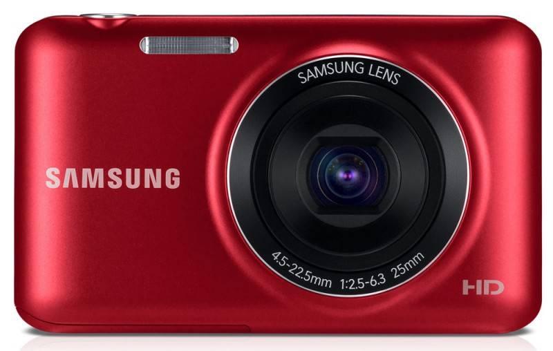 Фотоаппарат Samsung ES95 красный - фото 1
