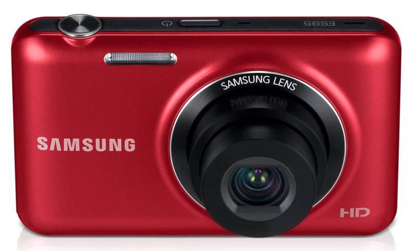 Фотоаппарат Samsung ES95 красный - фото 2