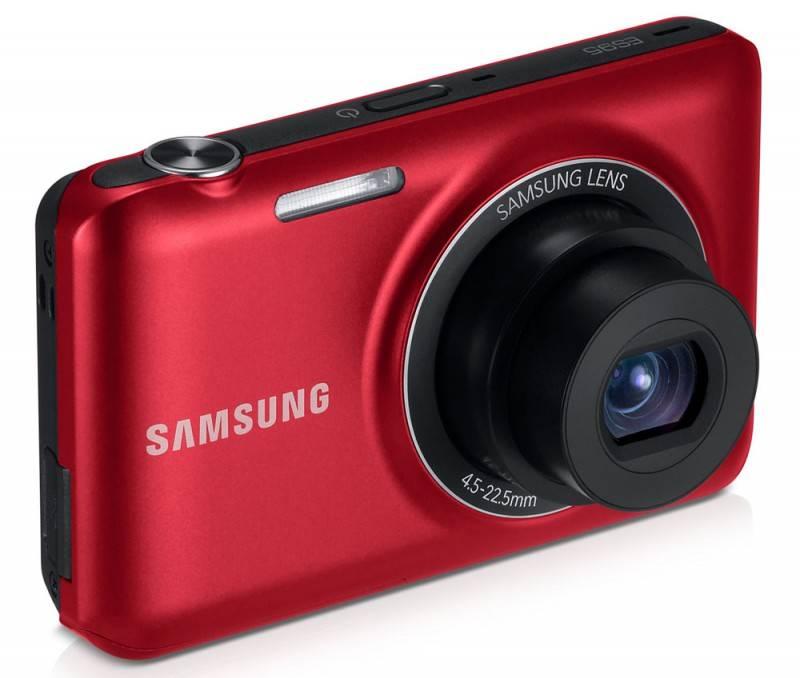 Фотоаппарат Samsung ES95 красный - фото 5